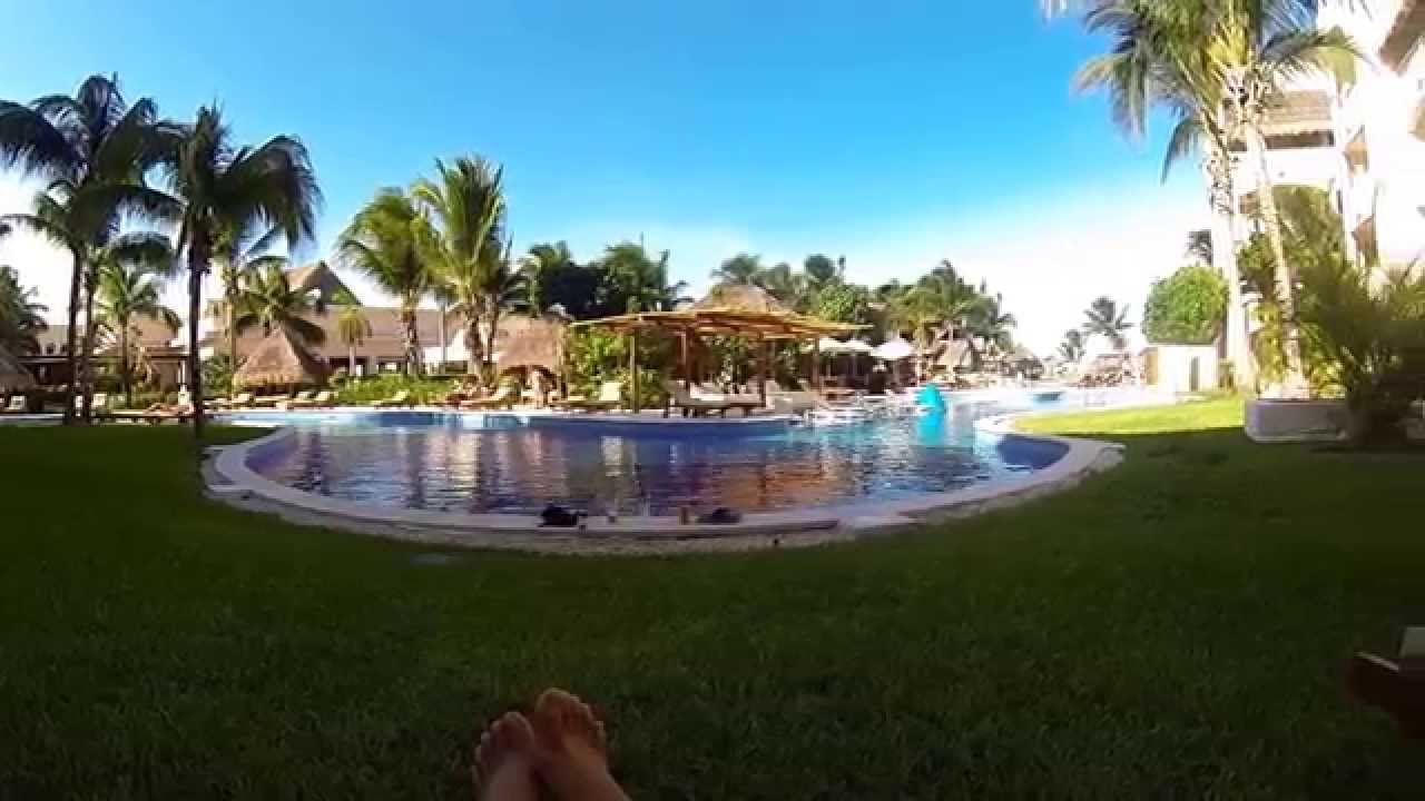Excellence Riviera Cancun Spa and Pool View rooms - YouTube