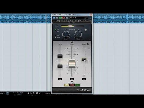 Vocal Rider de Waves: Nivela el volumen de la Voz SIN Comprimir