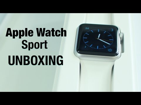 Apple Watch Unboxing And First Impressions - Sport Model
