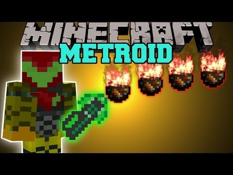 Minecraft: METROID MOD (WORLD KILLER. POWER SUITS. BEAMS. & MORE!) Mod Showcase