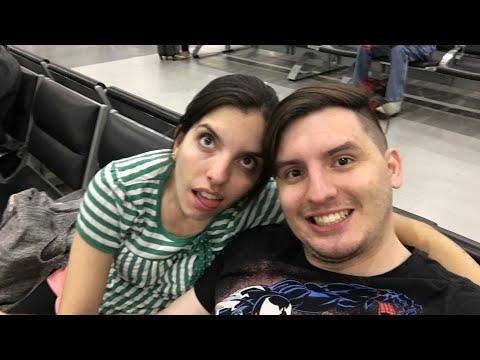 ESPERANDO NO AEROPORTO DA CIDADE DO MEXICO - DAILY VLOG