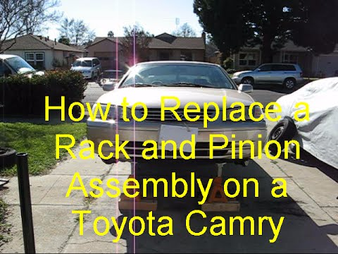 How to Replace a Rack and Pinion Assembly on a Toyota Camry
