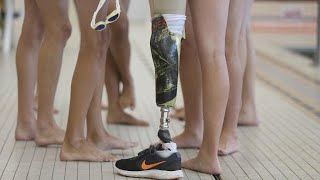 One-legged water polo player dominates sport