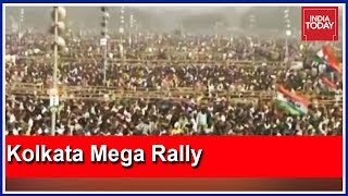Live From Kolkata Brigade Ground   Mamata's Opposition Meet To Host 40 Lakh People
