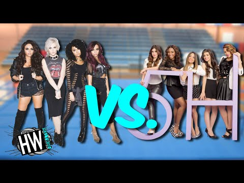Fifth Harmony Vs. Little Mix: Girl Power Showdown! (Battle Of The Bands)