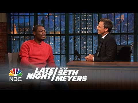 Michael Che Interview, Part 1 - Late Night with Seth Meyers
