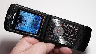Motorola RAZR V3 легенда из 2004 года в идеальном состоянии