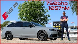 THE Ultimate Audi RS6 - A 750bhp Supercar Destroyer !!