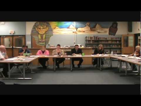 Board of Education Meeting 4-24-13