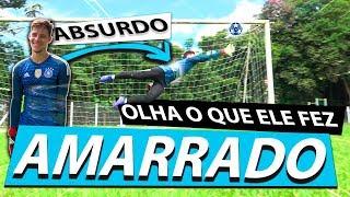 ABSURDO! ATÉ COM O BRAÇO AMARRADO O IGOR DEFENDE MUITO! {BZK}