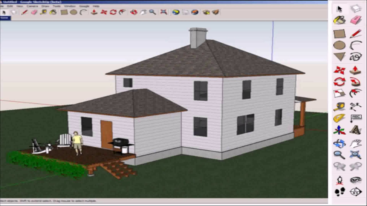 How To Make A Floor Plan In Sketchup
