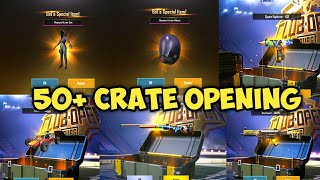 50+ CRATE OPENING IN PUBG MOBILE 0.14 || NEW M24 SKIN CRATE OPENING || BEST CRATE OPENING ||