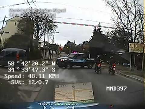San Miguel cámaras de seguridad: La policía municipal detuvo al Gordo Valor