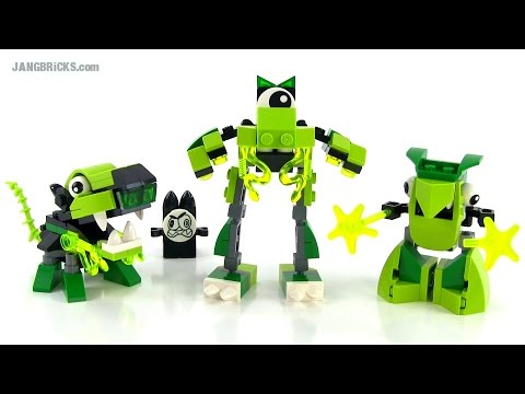 LEGO Mixels Series 3 Glorp Corp Reviews! Glomp. Glurt. & Torts!