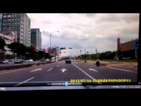 2013/7/14北投大業路車禍實況
