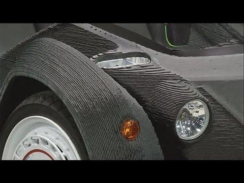 قريبا، الإفراج عن سيارة مصممة بالكامل من قبل طابعة ثلاثية الأبعاد – hi-tech