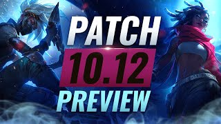 NEW PATCH PREVIEW: Upcoming Changes List for Patch 10.12 - League of Legends Season 10