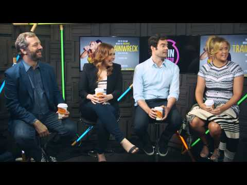 Amy Schumer, Bill Hader, Vanessa Bayer And Judd Apatow Talk Trainwreck