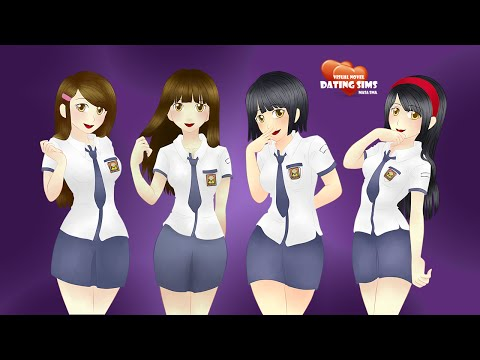 Visual Novel Dating Sims Masa SMA - Indonesia