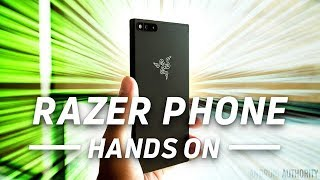 Razer Phone Hands On: A phone for gamers, and everyone