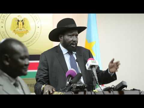South Sudan President Salva Kiir told  UN of acting like a parallel government JAN 20,2014