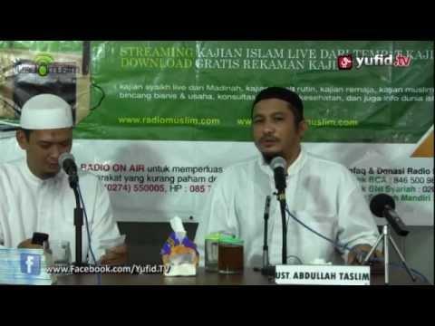 Ceramah Umum Islam: Persiapan Menjelang Pernikahan - Ustadz Abdullah Taslim