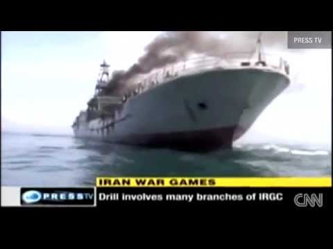 IRAN NAVY WILL STRIKE U.S.A. WARSHIPS WITH 10000+ C802 AND C704 MISSILE SPEEDBOATS