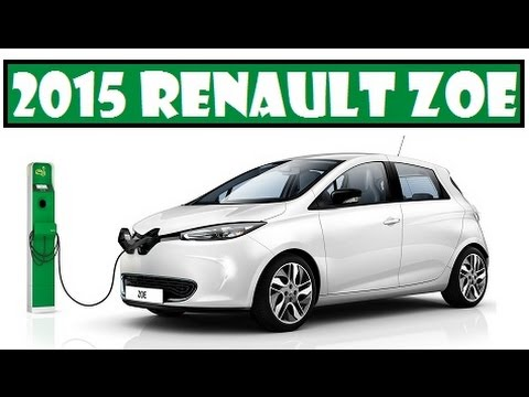 2015 Renault ZOE, this electric car cutting down the charging time by 10 percent