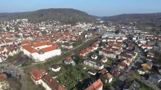 Karlsruhe aus der Vogelperspektive