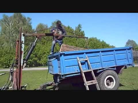 Кран для двигателя своими руками