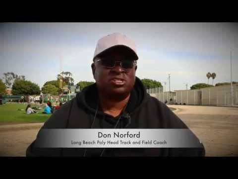 Track Coaching Legend Don Norford vouches for Doc Dossman