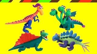 Nặn đất sét Khủng long | Play Doh Dinosaurs
