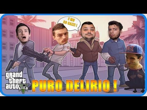 GTA 5 Online : PURO DELIRIO ! w/GABBO,ROHN,ANIMA,DEXTER.