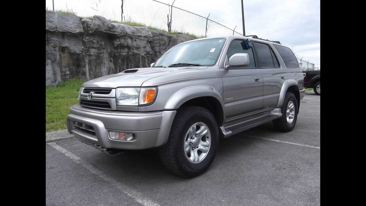 Sold 2002 Toyota 4runner Sr5 Sport 4x4 97k Cloth V 6 At