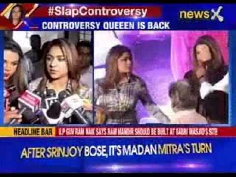 #SlapControversy: Rakhi Sawant's friend slaps director