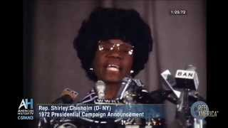 Reel America Preview: Rep. Shirley Chisholm 1972 Campaign