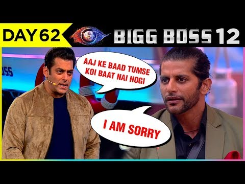 Karanvir Bohra APOLOGISES To Salman Khan For Teejay's OPEN LETTER |  Bigg Boss 12 Episode Update thumbnail