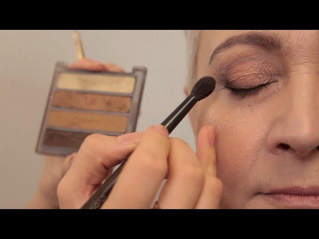 Лифтинг макияж после 50, 60 и 70 лет. До и после
