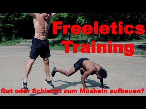 Freeletics Training gut oder schlecht zum Muskeln aufbauen?