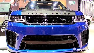 2018 Range Rover SVR Sport - Exterior and Interior Walkaround - 2017 LA Auto Show