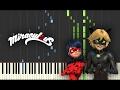 Miraculous Ladybug It S Ladybug Theme Song Piano mp3