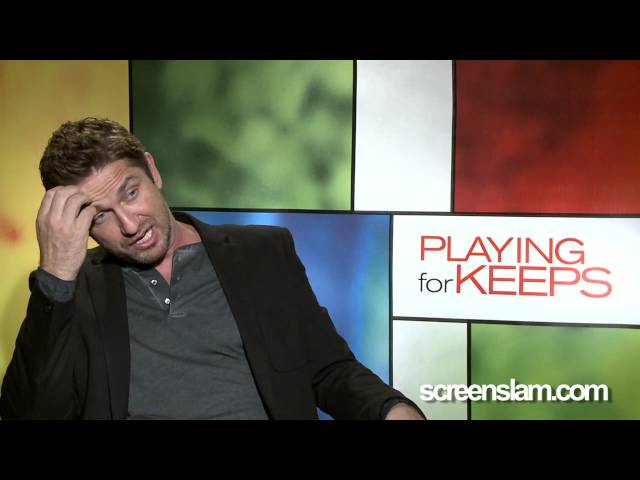 ScreenSlam -- Playing foe Keeps: Celebrity Interview Gerard Butler