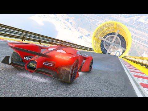 MI PRIMERA CARRERA ACROBÁTICA!! - GTA V ONLINE (DLC CUNNING STUNTS)