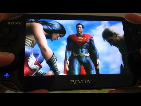 PS Vita - Injustice Gods Among Us Ultimate Edition Story Mode Gameplay