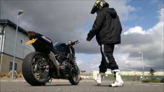 kawasaki z750 power wheelie acceleration