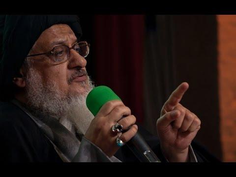 Ayatollah Seyed Ali Milani bei der 2. jährlichen Festveranstaltung Ghadir Khumm in Mainz
