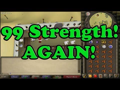 99 Strength AGAIN!!! Runescape 2007 Zerker Pure & Main Progress Update & Getting Owned in Edgeville!