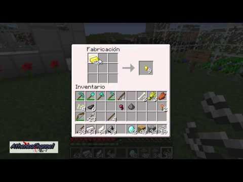 Combinaciones básicas para Minecraft Combate y Herramientas.