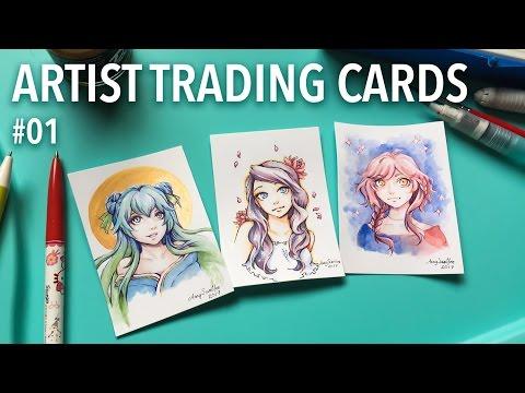Artist Trading Cards #01 | AmySunHee