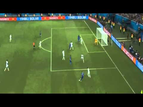 England vs Italy 1 2 Mario Balotelli Goal ~ England vs Italy 1 2 ~ World Cup 2014